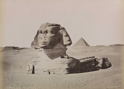 architecture, Egypt, sphinx - desktop wallpaper