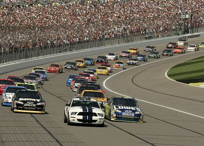 cars, Nascar, races - related desktop wallpaper