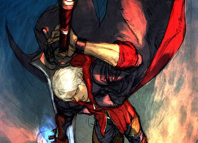video games, Devil May Cry, artwork, Nero - related desktop wallpaper