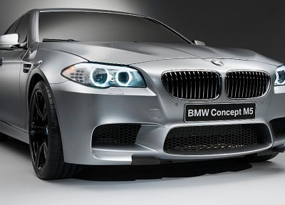 BMW M5, BMW M5 Concept - random desktop wallpaper