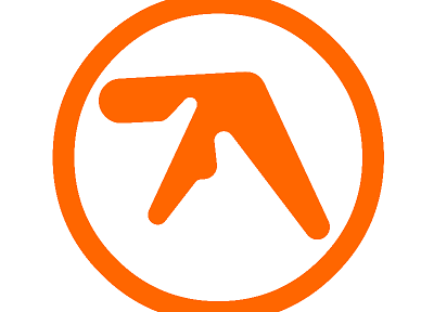 Aphex Twin, logos - random desktop wallpaper