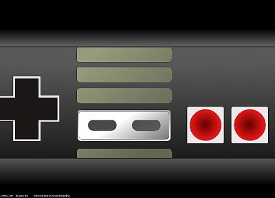 Nintendo, nes game console, controllers - related desktop wallpaper