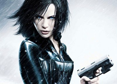 women, blue eyes, actress, latex, Kate Beckinsale, Underworld - related desktop wallpaper