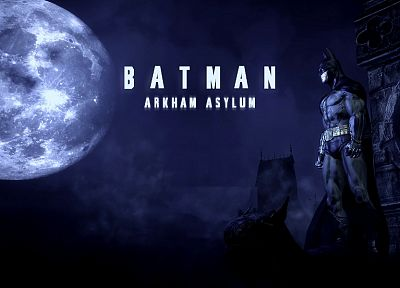 Batman, Arkham Asylum - random desktop wallpaper