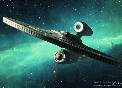 movies, Star Trek, USS Kelvin - related desktop wallpaper