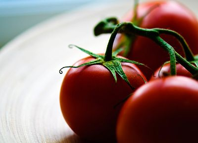 close-up, vegetables, food, tomatoes - desktop wallpaper