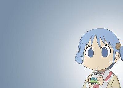 Nichijou, Naganohara Mio, simple background - desktop wallpaper