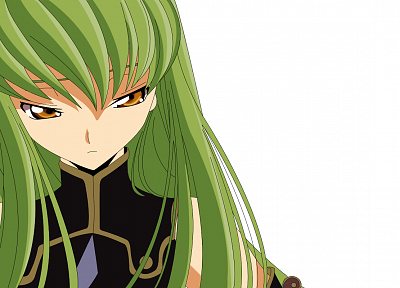 Code Geass, C.C., simple background - desktop wallpaper