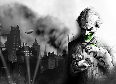 Batman, video games, The Joker, Batman Arkham City - desktop wallpaper