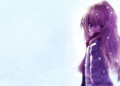 Aisaka Taiga, Toradora, simple background - related desktop wallpaper