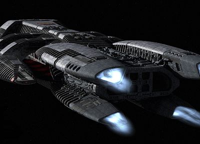 video games, carrier, Battlestar Galactica, spaceships, vehicles - desktop wallpaper