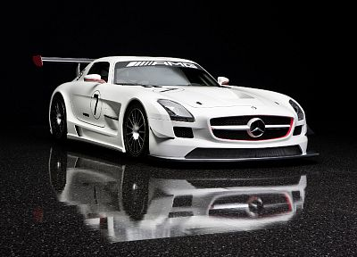 cars, chrome, vehicles, Mercedes-Benz - desktop wallpaper