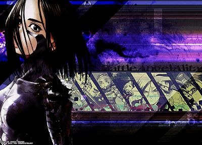Gunnm, Battle Angel Alita - random desktop wallpaper