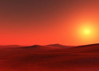 red, deserts, sahara - random desktop wallpaper