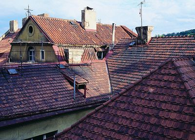 Prague, rooftops - related desktop wallpaper