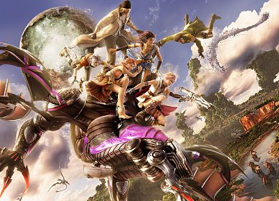 video games, Final Fantasy XIII - random desktop wallpaper