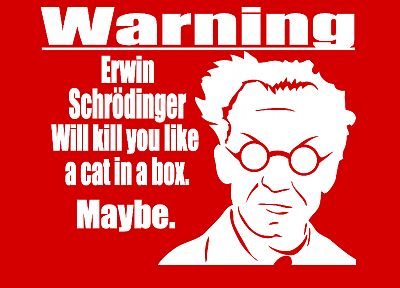 Erwin Schrödinger - desktop wallpaper