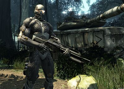 soldiers, Crysis - related desktop wallpaper