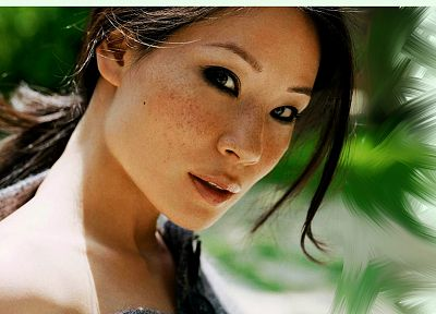 women, Lucy Liu - random desktop wallpaper