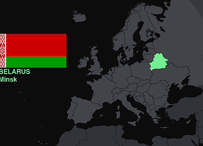 flags, Europe, maps, knowledge, countries, Belarus, useful - related desktop wallpaper