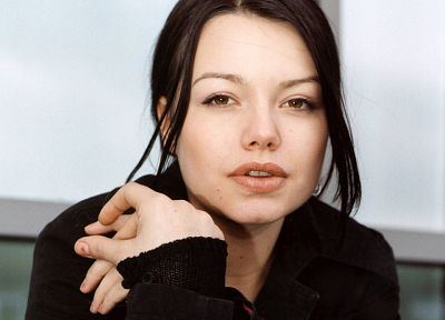 brunettes, women, brown eyes, Cosma Shiva Hagen - desktop wallpaper