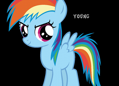 young, My Little Pony, ponies, Rainbow Dash, My Little Pony: Friendship is Magic - random desktop wallpaper