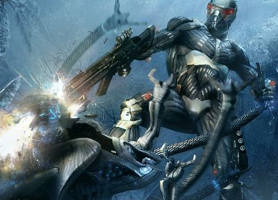 video games, Crysis - random desktop wallpaper