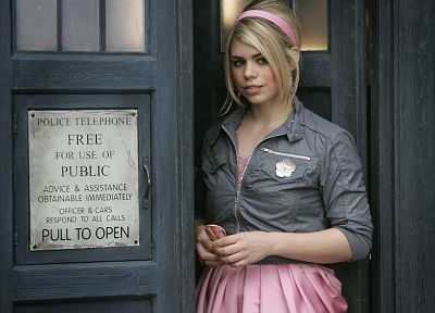 women, Rose Tyler, TARDIS, Billie Piper, Doctor Who - related desktop wallpaper