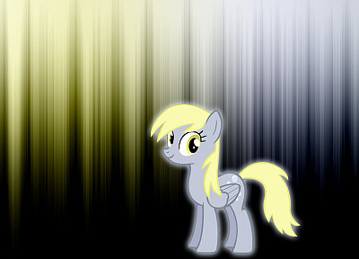 My Little Pony, glow, Derpy Hooves - related desktop wallpaper
