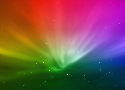 multicolor, rainbows - random desktop wallpaper