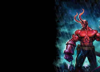 Hellboy - random desktop wallpaper