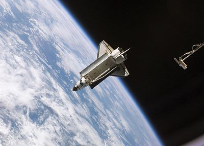 Space Shuttle, NASA - random desktop wallpaper
