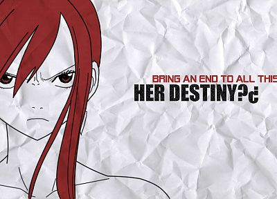 Fairy Tail, Scarlet Erza - random desktop wallpaper