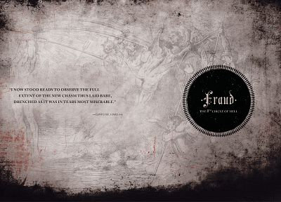 quotes, Hell, typography - related desktop wallpaper