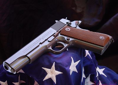 guns, weapons, M1911, Colt, handguns - desktop wallpaper