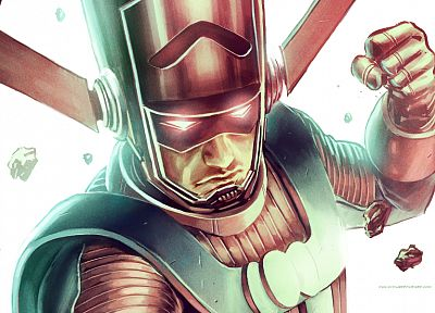 Marvel Comics, drawings, Galactus - random desktop wallpaper