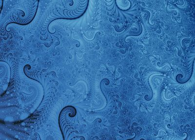 blue, fractals, spiral - related desktop wallpaper