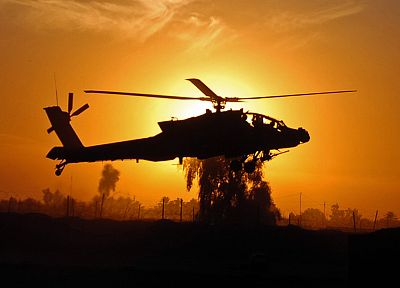 aircraft, military, helicopters, vehicles, AH-64 Apache - related desktop wallpaper