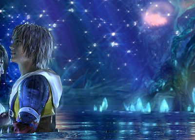 video games, Yuna, Final Fantasy X - random desktop wallpaper