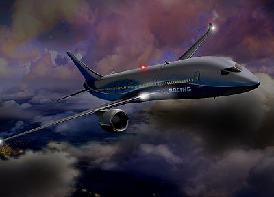aircraft, Boeing 787 Dreamliner - random desktop wallpaper