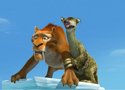 Ice Age - desktop wallpaper