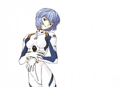 Ayanami Rei, Neon Genesis Evangelion, anime, simple background - related desktop wallpaper