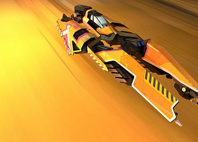Wipeout - random desktop wallpaper