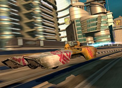 video games, futuristic, Wipeout, science fiction, Wipeout HD, fan art - random desktop wallpaper