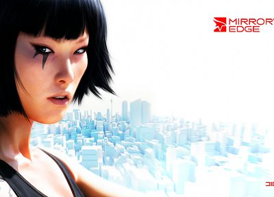 video games, Mirrors Edge, characters, Faith Connors - desktop wallpaper
