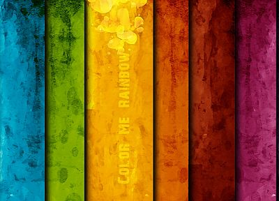 abstract, multicolor, vintage, textures, rainbows - desktop wallpaper