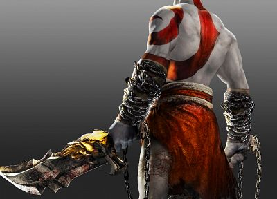 video games, Kratos, God of War - random desktop wallpaper