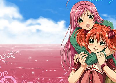 Akashiya Moka, anime, anime girls, Rosario to Vampire - desktop wallpaper