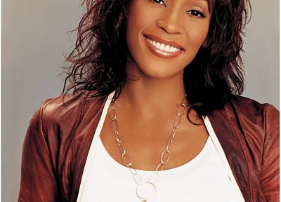 Whitney Houston - random desktop wallpaper