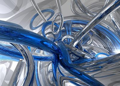 abstract, blue, silver - related desktop wallpaper